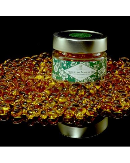 Capsules Bio d'huile de Nigelle