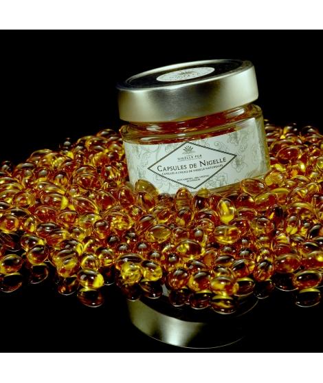 Capsules d'huile de Nigelle
