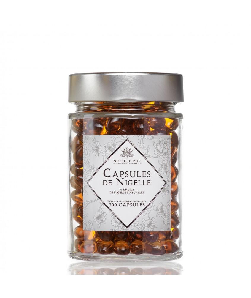 300 Capsules d'huile de Nigelle